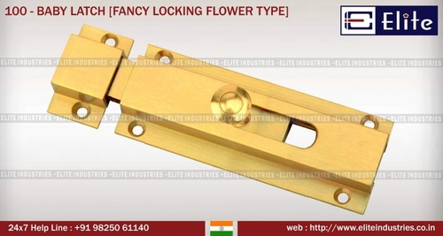 Baby Latch Locking Flower Type