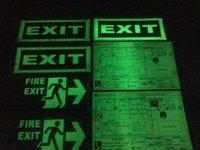 Photo Luminescent Signs