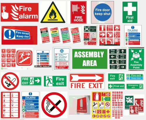 Fire Exit Labels