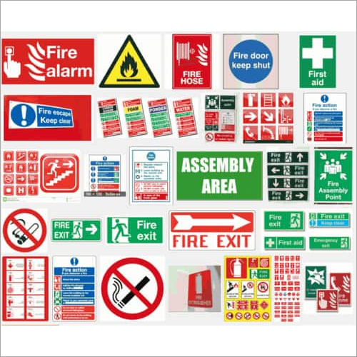 Fire Exit Labels