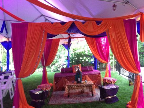 Fabric Wedding Mandap