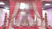 Designer Fabric Wedding Mandap