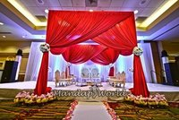 Royal Fabric Wedding Mandap