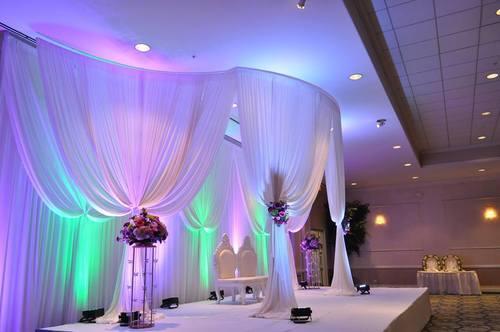 FABRIC WEDDING MANDAP