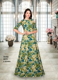 Designer Heavy Gown