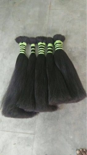 NON REMY DOUBLE DRAWN HAIR