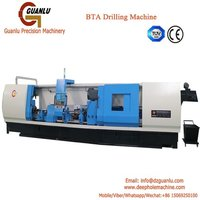 CNC BTA drilling machine for tube sheet