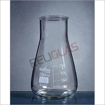02.307 Conical Flask, Wide Mouth