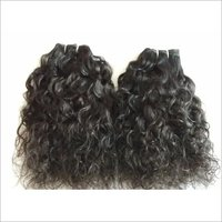 Raw Indian Natural Curly Hair, Cuticle Aligned Hair