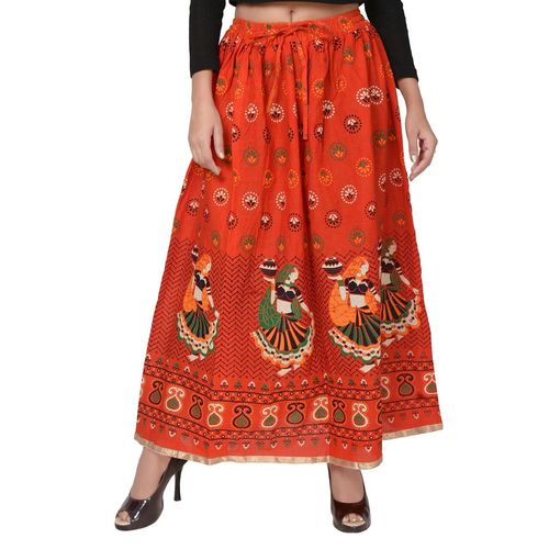 Ladies Jaipuri Cotton Skirts
