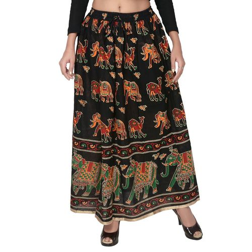 Jaipuri Design Printed Cotton Skirts