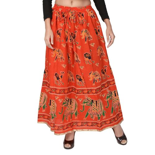 Rajasthani Printed Cotton Skirts