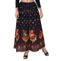 Cotton Printed Fancy Skirts