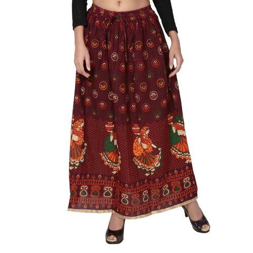 Rajasthani Design Printed Cotton Skirts