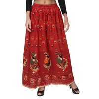 Jaipuri Printed Skirts