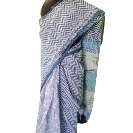 Hand Printed Voile Sarees