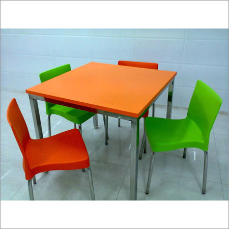 4 Seater Cafeteria Table