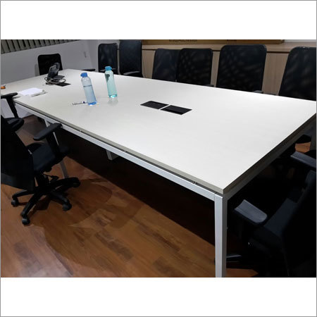 Metal Understructure Conference Table