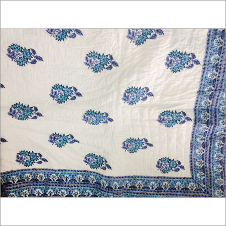 Hand Printed Cotton Quilts
