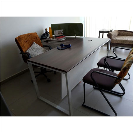 L Shaped Executive Table