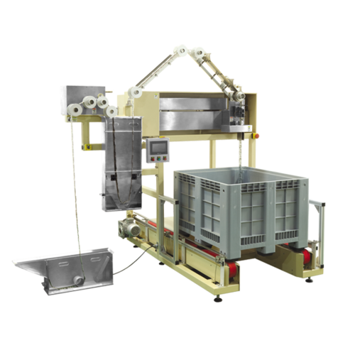 Big Chain Pouch Loader Machine