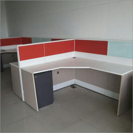 L Shaped Work Station