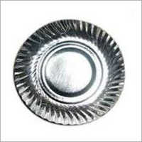 Silver Paper Plate