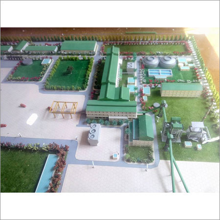 Sugar Mill Factory Model