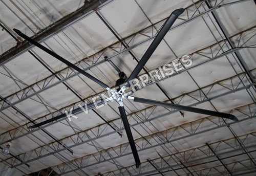 Energy Efficient HVLS Fans