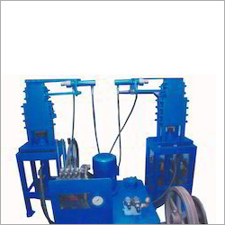 Semi automatic interlocking brick machine