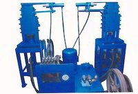 semi-automatic interlocking brick Making machine.