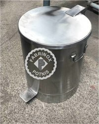 Stainless Steel Foot Operated Garbage Bin