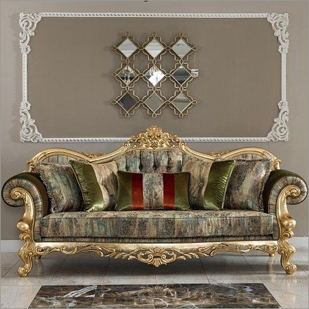 Gold Leaf Sofa