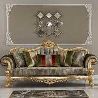 Gold Leaf Sofa
