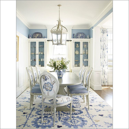 Silver Leaf Dining Room Table