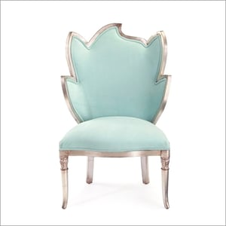 Silver Leaf Long Chair