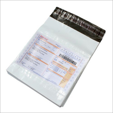 Plain Tamper Proof Courier Bags (With Pod)