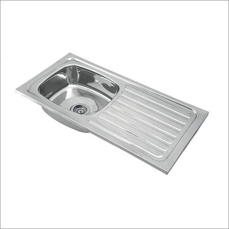 Single Bowl With Drainer Kitchen Sink