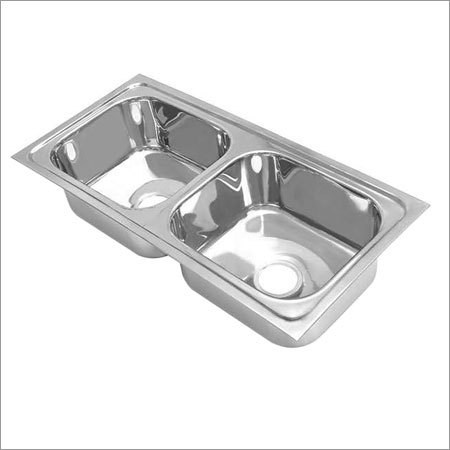 Double Bowl Square  Kitchen Sink
