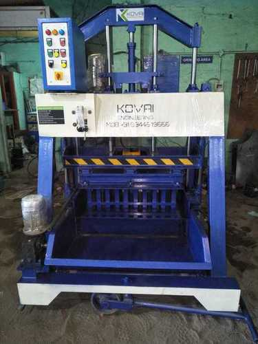 Triple Vibrator Solid Block Machine