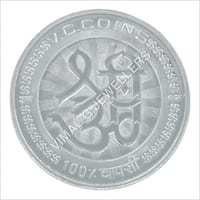 Silver Lakshmi Ganesh coins