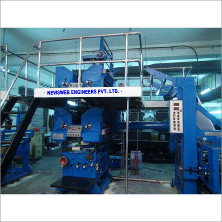Two Color Web Offset Printing Machine