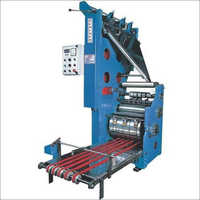 Semi Automatic Page Folding Machine