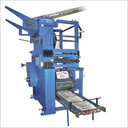 8 Page All Black Web Offset Newspaper Printing Machine