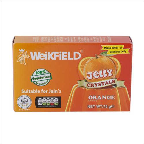 Orange Jelly Crystals Shelf Life: 6-24 Months