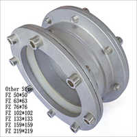 Equal coupling flange straight run