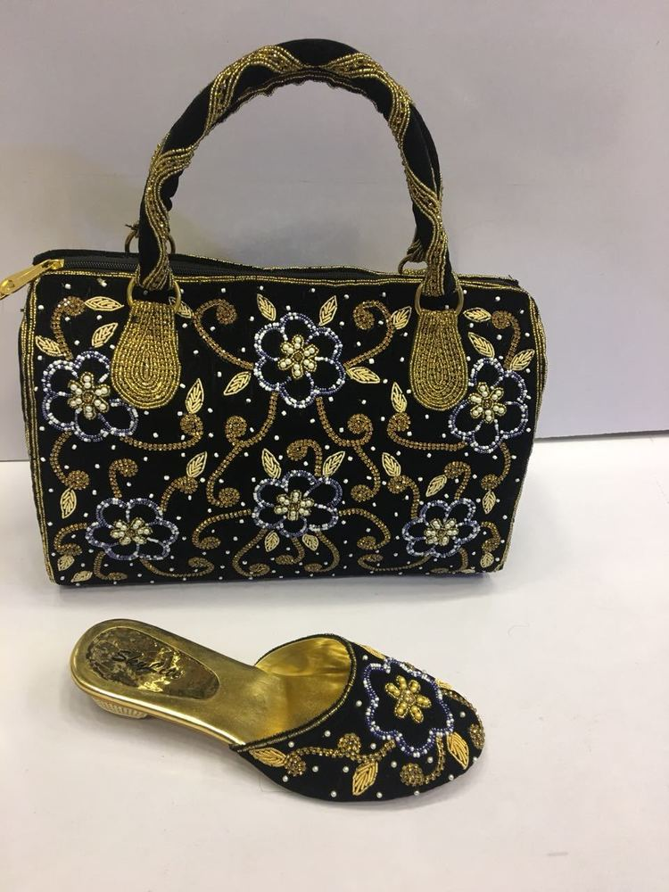 High quality latest design ladies shoes and bag