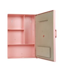 Bathroom Cabinet Pink