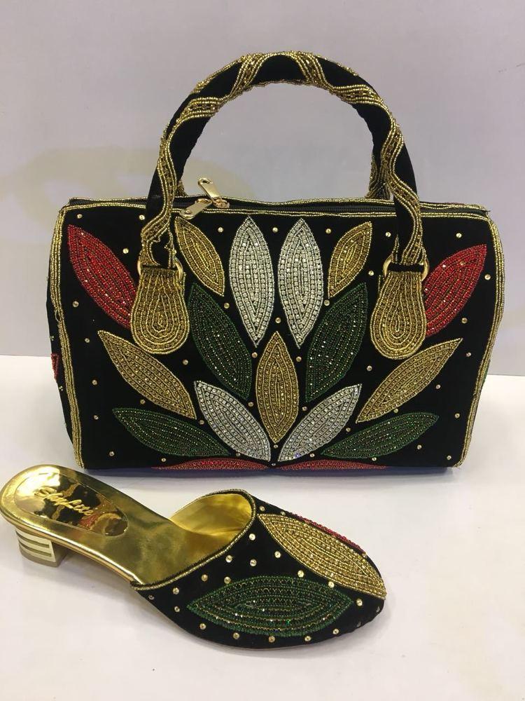 Designer Women's Sandal & Matching Bags
