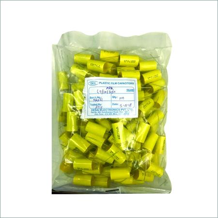 DEC (MPR) 4.7/10/250Vac Axial Capacitors 22.5mm, 100Pcs